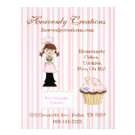 Whimsical Cupcake Bakery Flyer