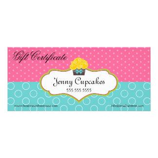 Whimsical Cupcake Bakery Gift Certificate