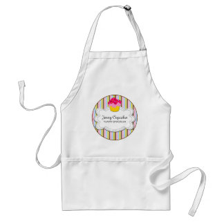 Whimsical Cupcake Bakery Personalized Apron