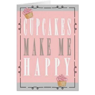 Whimsical Cupcake Birthday Card
