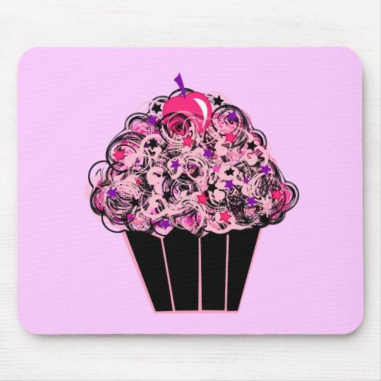 Whimsical Cupcake Mouse Pad