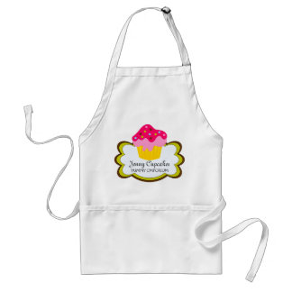 Whimsical Cupcake Personalized Apron