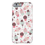 Whimsical Cupcakes Pattern iPhone 6 Case