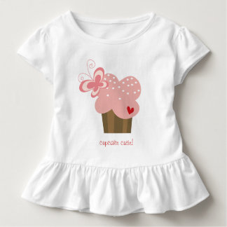 Whimsical Cupcakes Tree Butterflies Sweet Birthday Tshirts