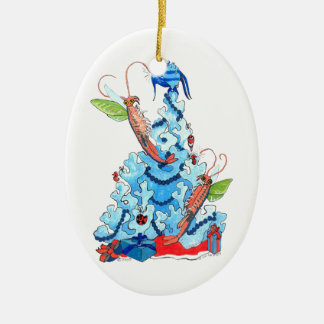 Whimsical Cute Alaska Wildlife Christmas Ornament