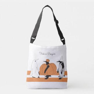 Whimsical Cute Penguin Animal Halloween Crossbody Bag