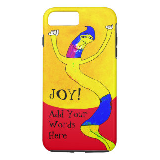 Whimsical Dancing Guy Bold And Bright iPhone 7 Plus Case