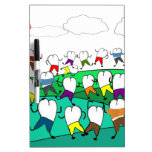 Whimsical Dental  Tooth Art Gifts Dry-Erase Whiteboard