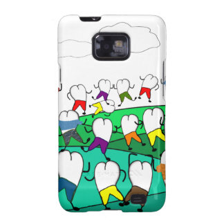Whimsical Dental  Tooth Art Gifts Galaxy SII Cover
