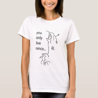 Whimsical design for cat lovers. T-Shirt