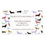 Whimsical Dog Wedding enclosure cards Double-Sided Standard Business Cards (Pack Of 100)