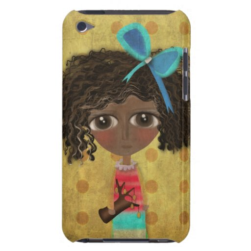 Whimsical Doll case Barely There iPod Case