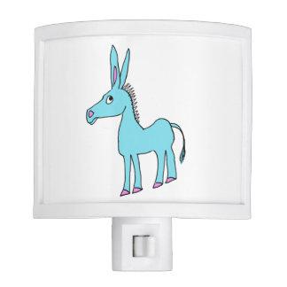 whimsical donkey night light