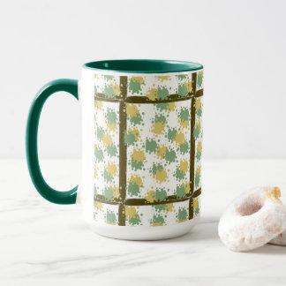 Whimsical dots mug
