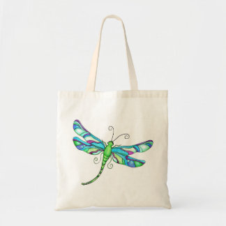 Whimsical Dragonflies Canvas Bag