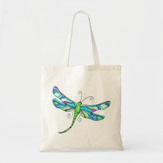 Whimsical Dragonflies Budget Tote Bag