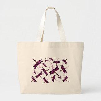Whimsical Dragonflies Jumbo Tote Bag