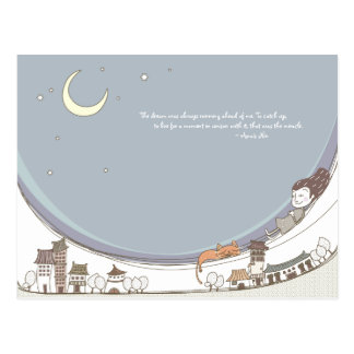 Whimsical Dreamscape 13 Postcard