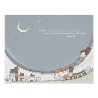 Whimsical Dreamscape Quotation 13 Poster Print