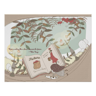Whimsical Dreamscape Quotation 9 Poster Print