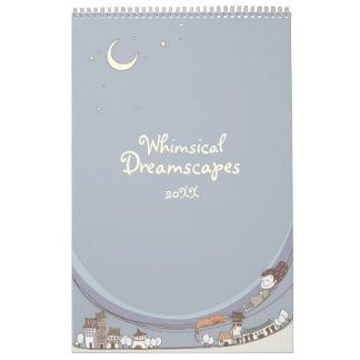 Whimsical Dreamscapes Calendar