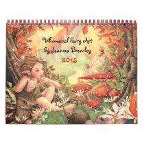 Whimsical Fairy Art Calendar 2015