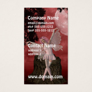Whimsical Fairy Business Cards