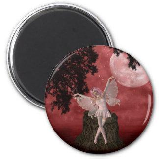 Whimsical Fairy Magnet Refrigerator Magnet