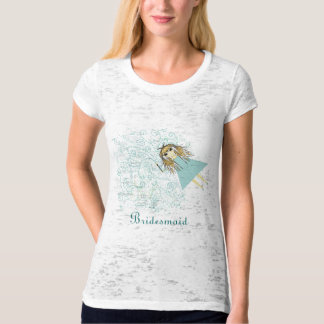 Whimsical Fairy Wedding Party T-shrits T-Shirt