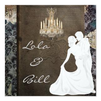 WHIMSICAL Fairytale Wedding  Invitation AUTHENTIC