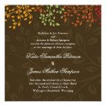 Whimsical Fall Wedding Invitation