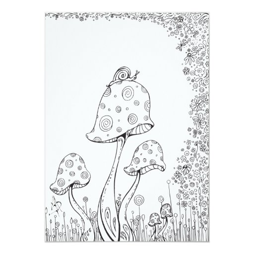 whimsical flowers coloring pages - photo#11