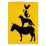 Whimsical Farm Animals Cards