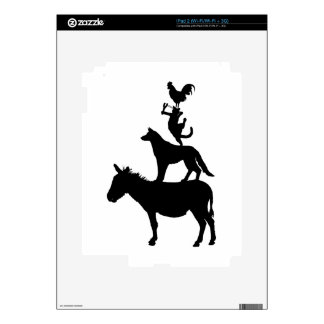Whimsical Farm Animals Decals Decals For The iPad 2