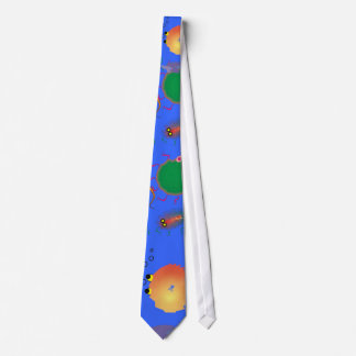 Whimsical Fish Art Tie by Gail Gabel