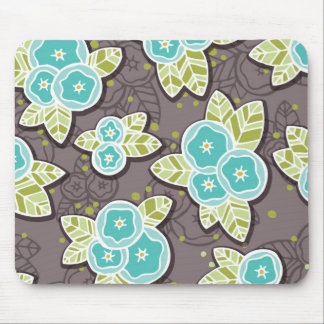 Whimsical Floral Mousepad