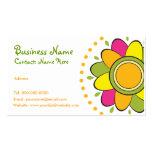 Whimsical Flower Business Card