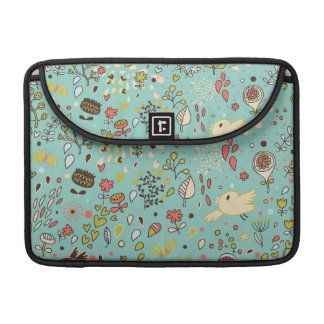 Whimsical Flower Garden MacBook Pro Sleeve