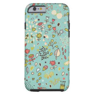 Whimsical Flower Garden Tough iPhone 6 Case
