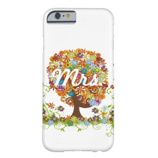 Whimsical Flower Tree Wedding Barely There iPhone 6 Case
