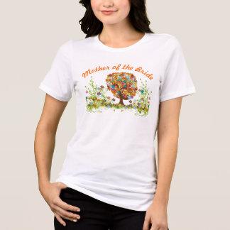 Whimsical Flower Tree Wedding T-Shirt