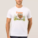 Whimsical Flower Tree Wedding Tee Shirts