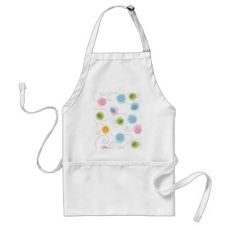 Whimsical Flowers Apron