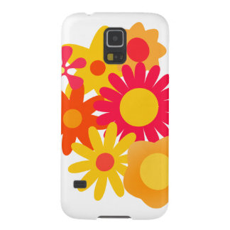 Whimsical Flowers Case For Galaxy S5