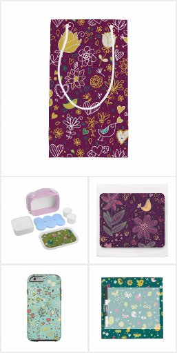 Whimsical Flowers Collection
