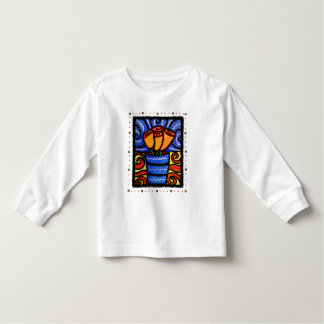 Whimsical  Flowers Kid's Graphic T-Shirt