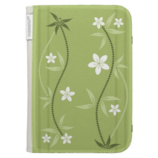 Whimsical Flowers Kindle Case