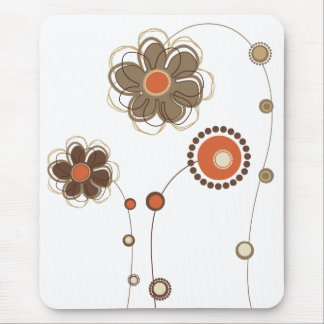 Whimsical Flowers Mousepad