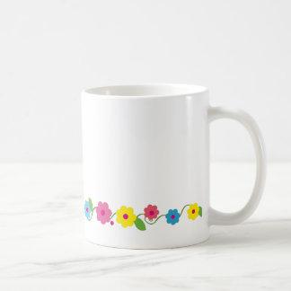 Whimsical Flowers Mug