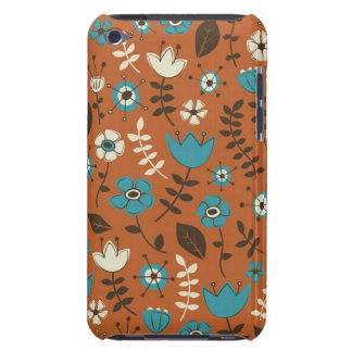 Whimsical Flowers Nature Pattern iPod Touch Case